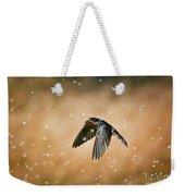 Swallow In Rain Weekender Tote Bag