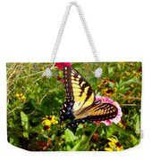Swallow Tail Butterfly Enjoying The Sunshine Weekender Tote Bag