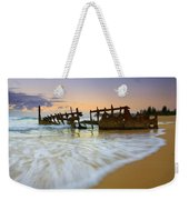 Swallowed By The Tides Weekender Tote Bag