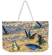 Swallowtail Butterfly Convention Weekender Tote Bag