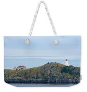 Swallowtail Lighthouse And Keeper Weekender Tote Bag