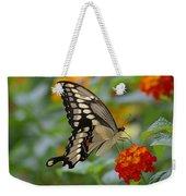 Swallowtail On A Lantana Weekender Tote Bag