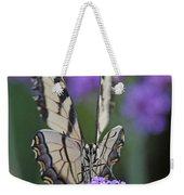 Swallowtail Staredown Weekender Tote Bag