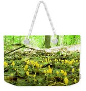 Swamp Becon Fungi Weekender Tote Bag