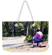Swamp Fishing Weekender Tote Bag