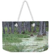 Swamp Garden At Magnolia Plantation And Gardens Weekender Tote Bag