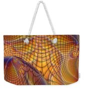 Swamp Gas Mesh Weekender Tote Bag