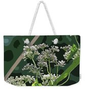 Swamp Milkweed Abstract Weekender Tote Bag
