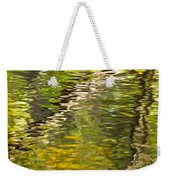 Swamp Reflections Abstract Weekender Tote Bag