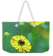 Swamp Sunflower Weekender Tote Bag