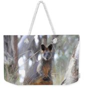 Swamp Wallaby Weekender Tote Bag