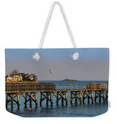 Swampscott Pier Swampscott Ma Weekender Tote Bag
