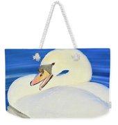 Swan 10 Weekender Tote Bag