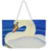 Swan 9 Weekender Tote Bag