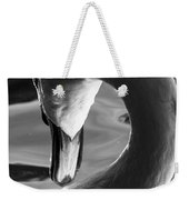Swan Abstract Weekender Tote Bag