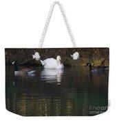 Swan And Geese Weekender Tote Bag