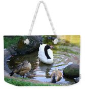 Swan And Wood Ducks Weekender Tote Bag