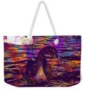 Swan Bird Animal Lake Summer  Weekender Tote Bag