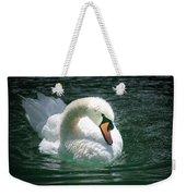Swan Bow Weekender Tote Bag