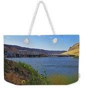 Swan Falls Weekender Tote Bag