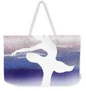 Swan Lake Ballerina Silhouette Weekender Tote Bag