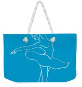 Swan Lake Dance Weekender Tote Bag