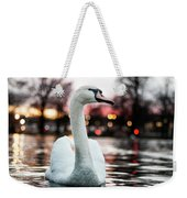 Swan Lake Night 2 Weekender Tote Bag