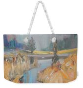 Swan On The Lake Weekender Tote Bag