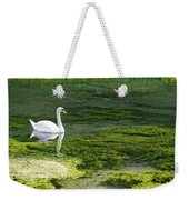 Swan On The River Lathkill Weekender Tote Bag
