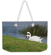 Swan Pair As Photographed Weekender Tote Bag