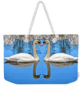Swan Princess Weekender Tote Bag