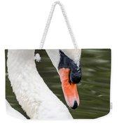 Swan Profile Weekender Tote Bag