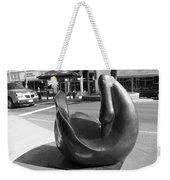 Swan Sculpture Grand Junction Co Weekender Tote Bag