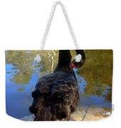 Swan Self Care Weekender Tote Bag