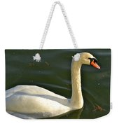 Swan Up Close Weekender Tote Bag