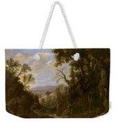 Swanevelt, Herman Van Woerden, 1603 - Paris, 1655 Landscape With Hermit Bound In Chains 1634 - 1639. Weekender Tote Bag