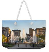 Swann Fountain In The Springtime Weekender Tote Bag