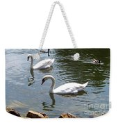 Swans And Ducks Weekender Tote Bag