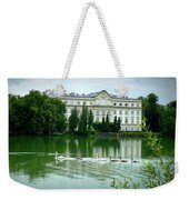 Swans On Austrian Lake Weekender Tote Bag