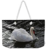 Swans Reflection Weekender Tote Bag
