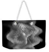 Swarm / Black And White  Weekender Tote Bag