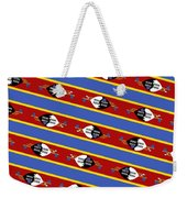 Swaziland Flag 3 Weekender Tote Bag