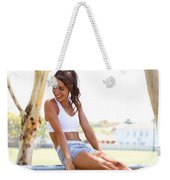 Sweat With Kayla Recipes Weekender Tote Bag