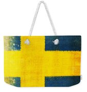 Swedish Flag Weekender Tote Bag