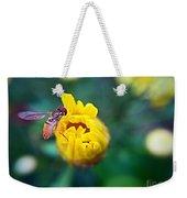 Sweet Bee Weekender Tote Bag