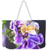 Sweet Bee Weekender Tote Bag