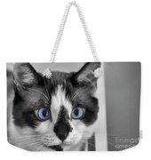 Sweet Blue Eyes Weekender Tote Bag