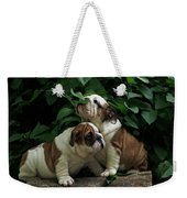 Sweet Couple Weekender Tote Bag