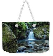 Sweet Creek Falls Vertical Weekender Tote Bag