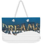 Sweet Dreams Part 2 20x14 Pillow Weekender Tote Bag